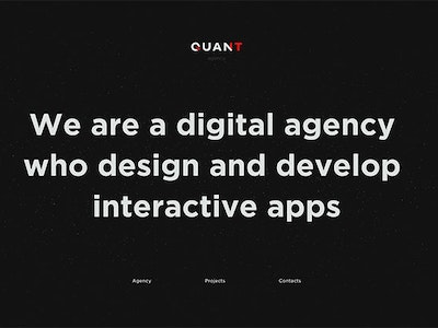 The Quant Agency
