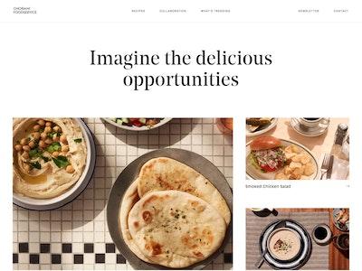 Chobani Food Service