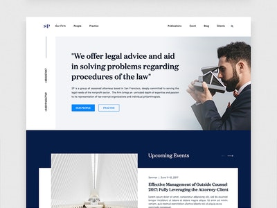 Lawyer Website Exploration