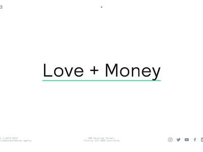 Love + Money